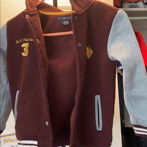 Polo jacket boys size 5-6